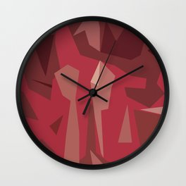 Cut Your Tie Wall Clock