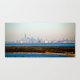 New York from Sandy Hook Canvas Print
