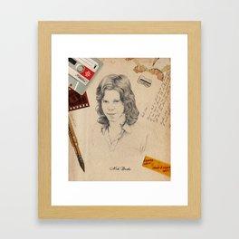 Nick Drake 2015 Framed Art Print