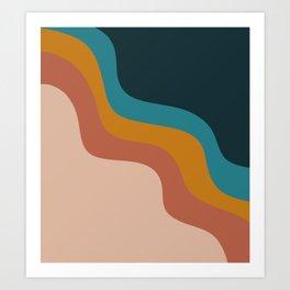Abstract ~ Retro Art Print