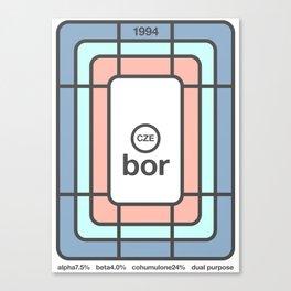bor single hop Canvas Print