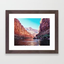 Floating the Colorado River Framed Art Print