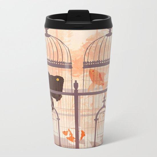 Cages Metal Travel Mug