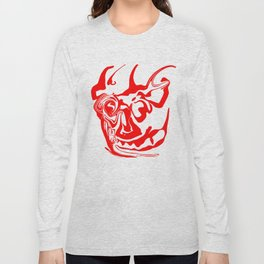 face8 red Long Sleeve T-shirt