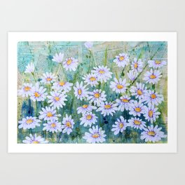 I Dream of Daisies Art Print