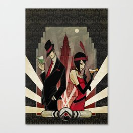SPEAKEASY Canvas Print