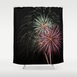 Firework 2 Shower Curtain