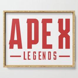 Apex Logo Serving Tray