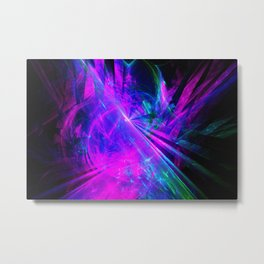 Shattered Space Metal Print