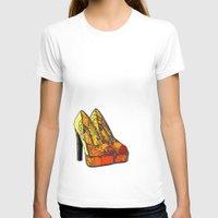 shoe T-shirts featuring Shoe 3 by AstridJN