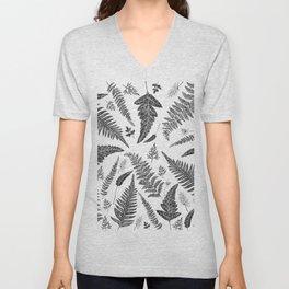 Ferns Pattern Unisex V-Neck