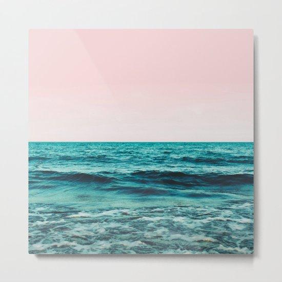 Ocean Love #society6 #oceanprints #buyart Metal Print