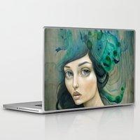 mermaid Laptop & iPad Skins featuring Mermaid by Mandy Tsung