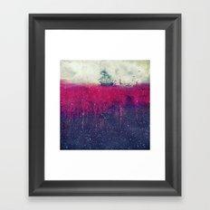 Sailing in dreams II Framed Art Print