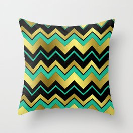 Aztec Chevron Throw Pillow