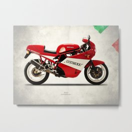 The 900 Super Sport 1990 Metal Print