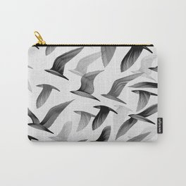 Drawing of Birds Carry-All Pouch
