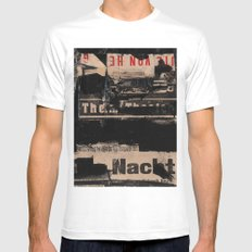 The Nacht Mens Fitted Tee MEDIUM White