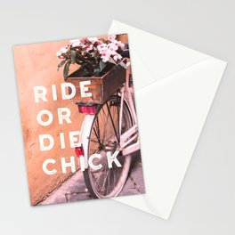 Ride or Die Chick Stationery Cards