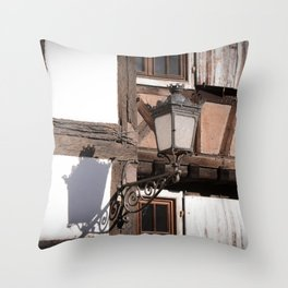 Light and Shadow Lamp Throw Pillow