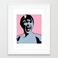 pilot Framed Art Prints featuring Pilot by Keith Cameron