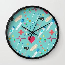 Healthcare Heroes Wall Clock