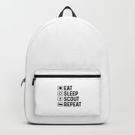 Scouts Gift Eat Sleep Scout Backpack