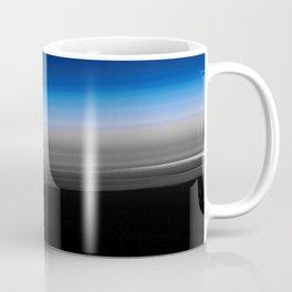 Blue Gray Smooth Ombre Coffee Mug