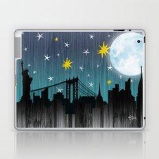 Starry Night Over Manhattan Laptop & iPad Skin