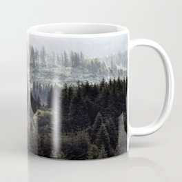 Hidden House in Majestic Forest Coffee Mug