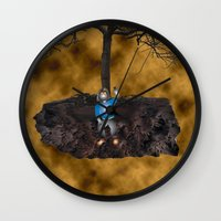book cover Wall Clocks featuring Book Cover Illustration by Conceptualized