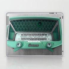 VINTAGE radio Laptop & iPad Skin