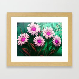 Mythical SunFlowers Framed Art Print