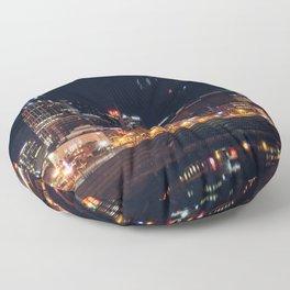 Music City Lights - Nashville Floor Pillow
