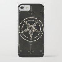 pentagram iPhone & iPod Cases featuring Pentagram by Corpse inc