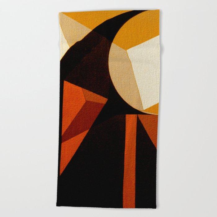 Jaburu (Jabiru) Beach Towel