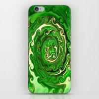 irish iPhone & iPod Skins featuring Irish Green by Chris' Landscape Images & Designs
