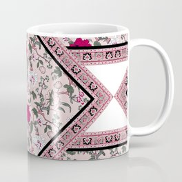 ethnic floral paisley square design Coffee Mug