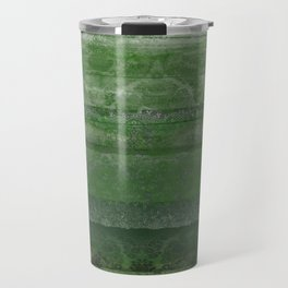 Textural Green Travel Mug