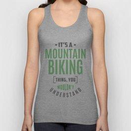 Mountain Biking Thing Unisex Tank Top