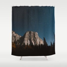 El Capitan in the Moolight Shower Curtain