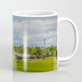 Jumbled Abandoned Farm, Burleigh County, North Dakota 2 Coffee Mug