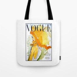 VOGU YELLOW Tote Bag