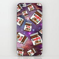 nutella iPhone & iPod Skins featuring NUTELLA NEBULA by SteffiMetal