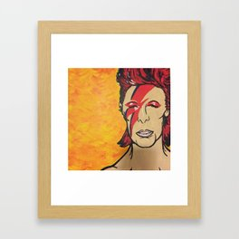 A Lad Insane Framed Art Print