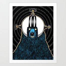 SpaceBear! Art Print