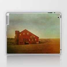 Red Barn in Autumn Laptop & iPad Skin