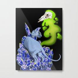 Bakeneko Metal Print