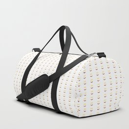 Bacon And Eggs Happy Face Duffle Bag