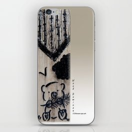 Wood Dominoes - #3 iPhone Skin